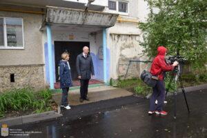 Виктор Ермишкин пригласил СМИ на рабочий осмотр объектов